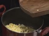 Млечна картофена супа с девесил 2