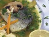 Зеленчукова супа с пъстърва