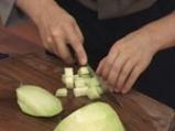 Салата от пъпеш с балсамово-малинов винегрет 2
