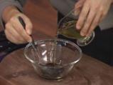 Салата от пъпеш с балсамово-малинов винегрет 3