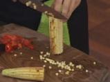 Доматена салата с печена царевица 2