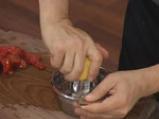 Доматена салата с печена царевица 3