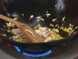 Пилешка супа с къри и пържено оризово фиде 2