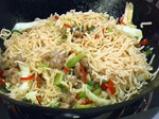 Агнешко къри със спагети 5