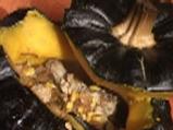 Родопска пълнена тиква със свинско месо