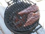 Стек от щраусово месо със сос от къпини 2