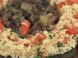 Кебап с патладжан и шилешко с доматен...