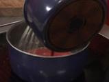Парфе от пилешки дробчета и сос от боровинки 6