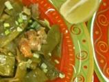 Агнешко със зелен фасул по арабски