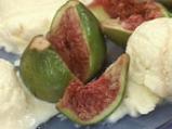 Зехтинов сладолед с поширани смокини