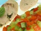 Пилешки руладини с мащерка и чесън