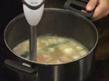 Супа от кестени и пащърнак 3