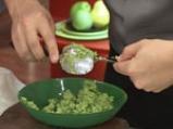 Сьомга с пюре от броколи 4