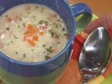 Пилешка супа с овесени ядки