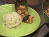 Винен кебап с пилешко и маслини 8
