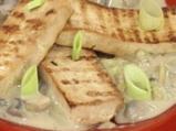 Тофу на грил с гъбен сос