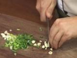 Рибно филе със зелен сос на микровълнова фурна