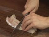 Рибно филе със зелен сос на микровълнова фурна 3