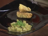 Рибно филе със зелен сос на микровълнова фурна 4