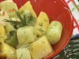 Салата от праз с картофи