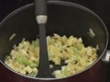 Целинова супа с кашкавал 2