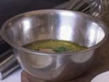 Филе от риба меч с  гарнитура от задушени зеленчуци