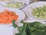 Филе от риба меч с  гарнитура от задушени зеленчуци 2
