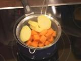 Пюре от тиква и картоф 2