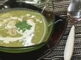 Супа с броколи, праз и печурки