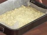 Ябълкови блокчета с орехи и стафиди 3