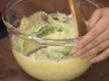 Суфле от броколи със сирене