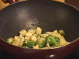 Сач от свинско месо със задушени зеленчуци 3