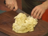 Кюфтета с шунка, картофи и кисело зеле 2