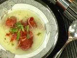 Супа с пъпеш и прошуто