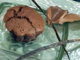 Шоколадов пудинг с бял шоколадов сос