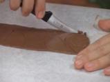 Шоколадов пудинг с бял шоколадов сос 2