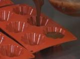 Шоколадов пудинг с бял шоколадов сос 5