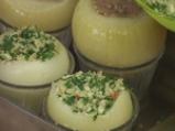Пълнен лук с телешка кайма и ориз 5