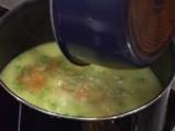 Супа от грах с кнедли от кашкавал 3