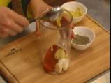 Макаронена салата с маслини и грах 3