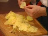 Тортиля с грах и сирене