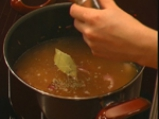 Червена лучена супа 2
