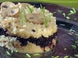Каубойски черен ориз с гъби