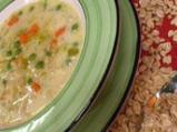 Зеленчукова супа с овесени ядки