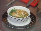 Пилешка супа с лимон и спанак 3