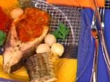 Шаран с доматен къри сос