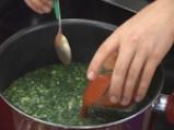 Супа от коприва с тофу 3