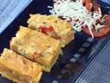 Царевична пита с чушки и сирене