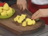 Пълнени чушки с картофи, сирене и яйца