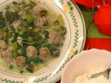 Великденска агнешка супа топчета